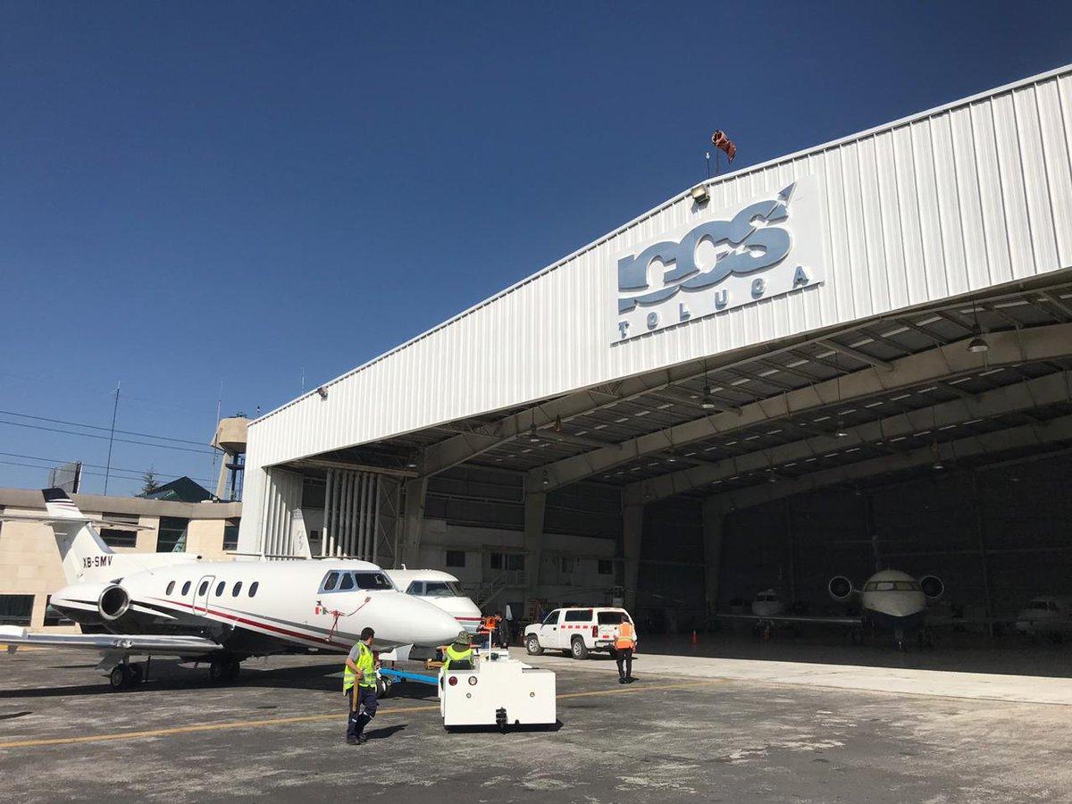 #OurFacilities  ICCS Toluca FBO Hangar  #ICCS #Hangar #bizav #bizjets #PrivateAviation #luxurylifestyle #avgeeks https://t.co/n3GoN8Wd3H