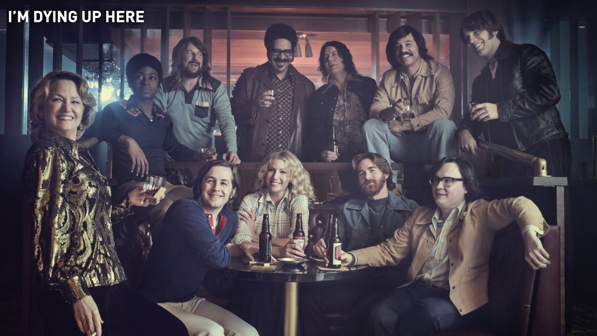 A solid group of jokers.   If you're in need of a good laugh, stream I'm Dying Up Here on SHOWTIME.