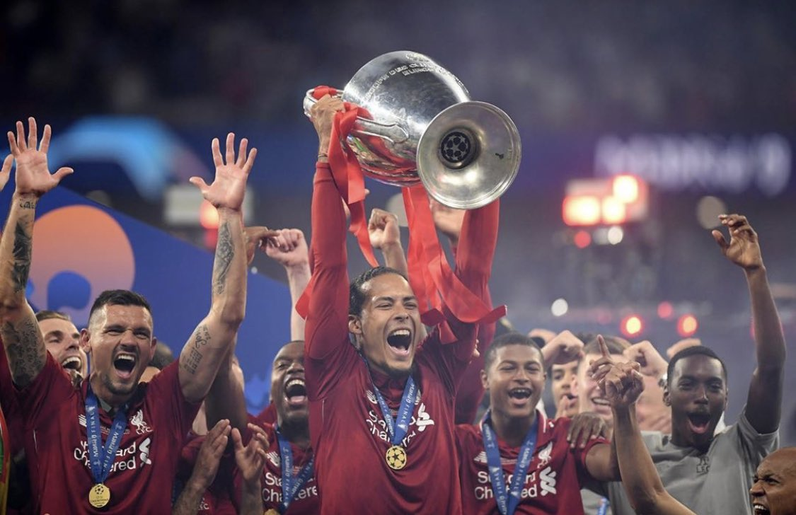 Came from Southampton for a record £75m, Virgil has been a colossus since day 1, scoring on his debut vs Everton, to helping us win the Champions League, Super Cup, CWC and the long waited Premier League. Best signing in Klopp's era.   Happy 29th birthday, Virgil Van Dijk!  <br>http://pic.twitter.com/mGqicRa6vn