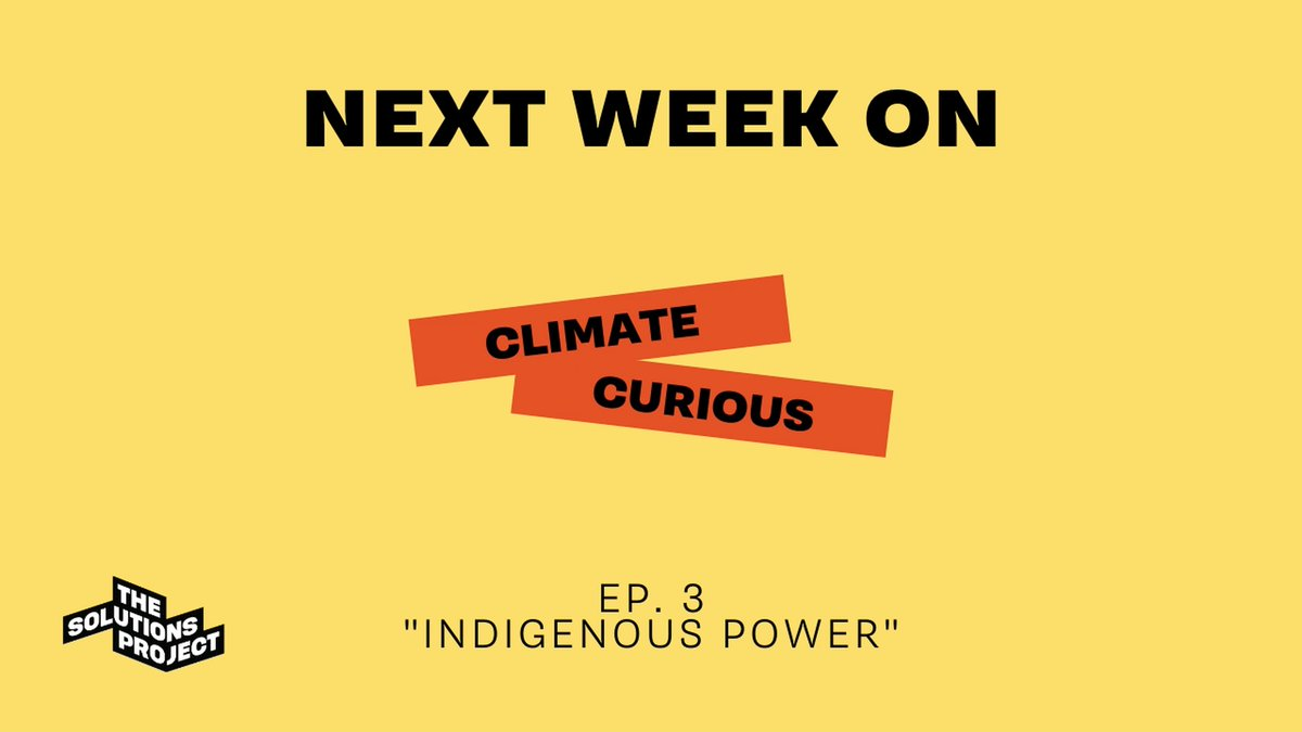 Ep. 2 of #ClimateCurious reached over 71k ppl in 45 countries & we are still BLOWN away!! Join us Tues 7/14 @ 4pm ET (LIVE on FB & YT) as we sit down w/ Indigenous leaders doing amazing work to further #ClimateJustice & build a more equitable & just nation.#LetsCreateTheFuture