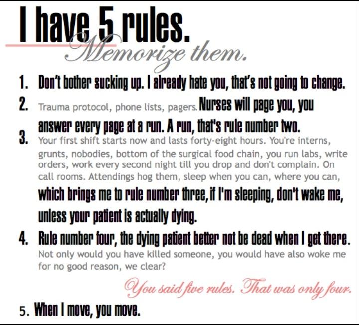 FIVE RULES OF DOCTOR MIRANDA BAILEY TO THE INTERNS ON SEASON 1-EPISODE 1   #GreysAnatomy #mirandabailey #GreysAnantomy #greysanatomygr #grey #baileypic.twitter.com/as27JUpyKj