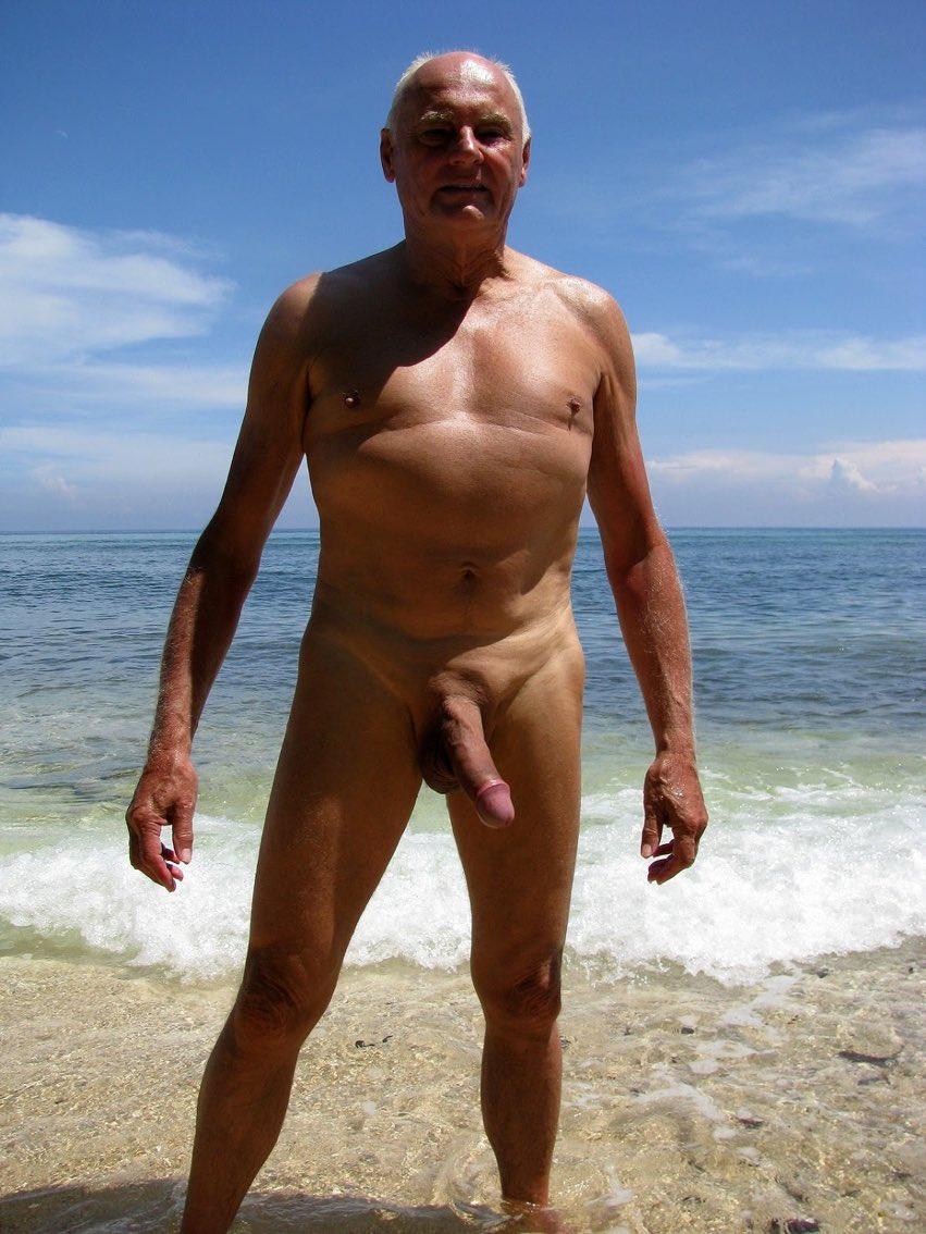 Nude Older Gents