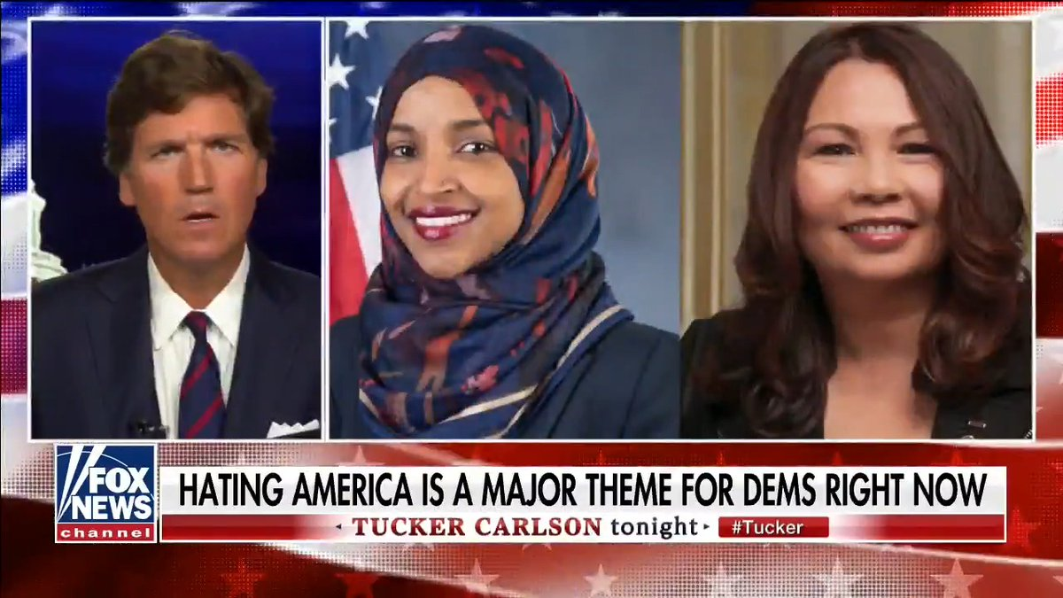 We have every right to fight to preserve our nation, heritage and culture. When vandals like Tammy Duckworth and Ilhan Omar tell us that we're not allowed to question their patriotism, as they scream about how horrible this country is, we have every right to laugh in their faces.