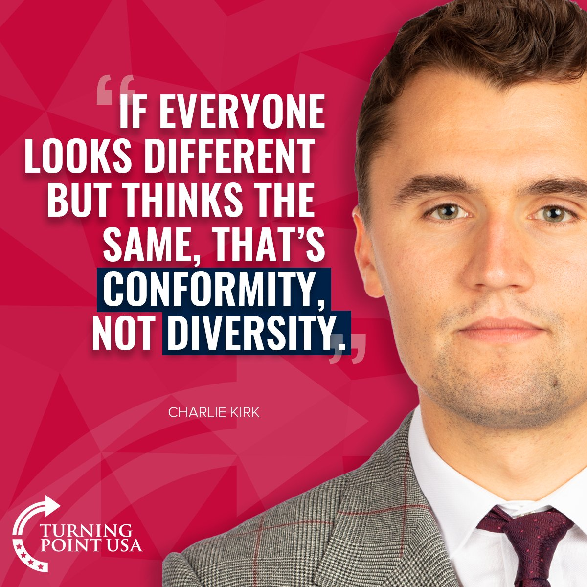EXACTLY, @charliekirk11! #ThinkForYourself