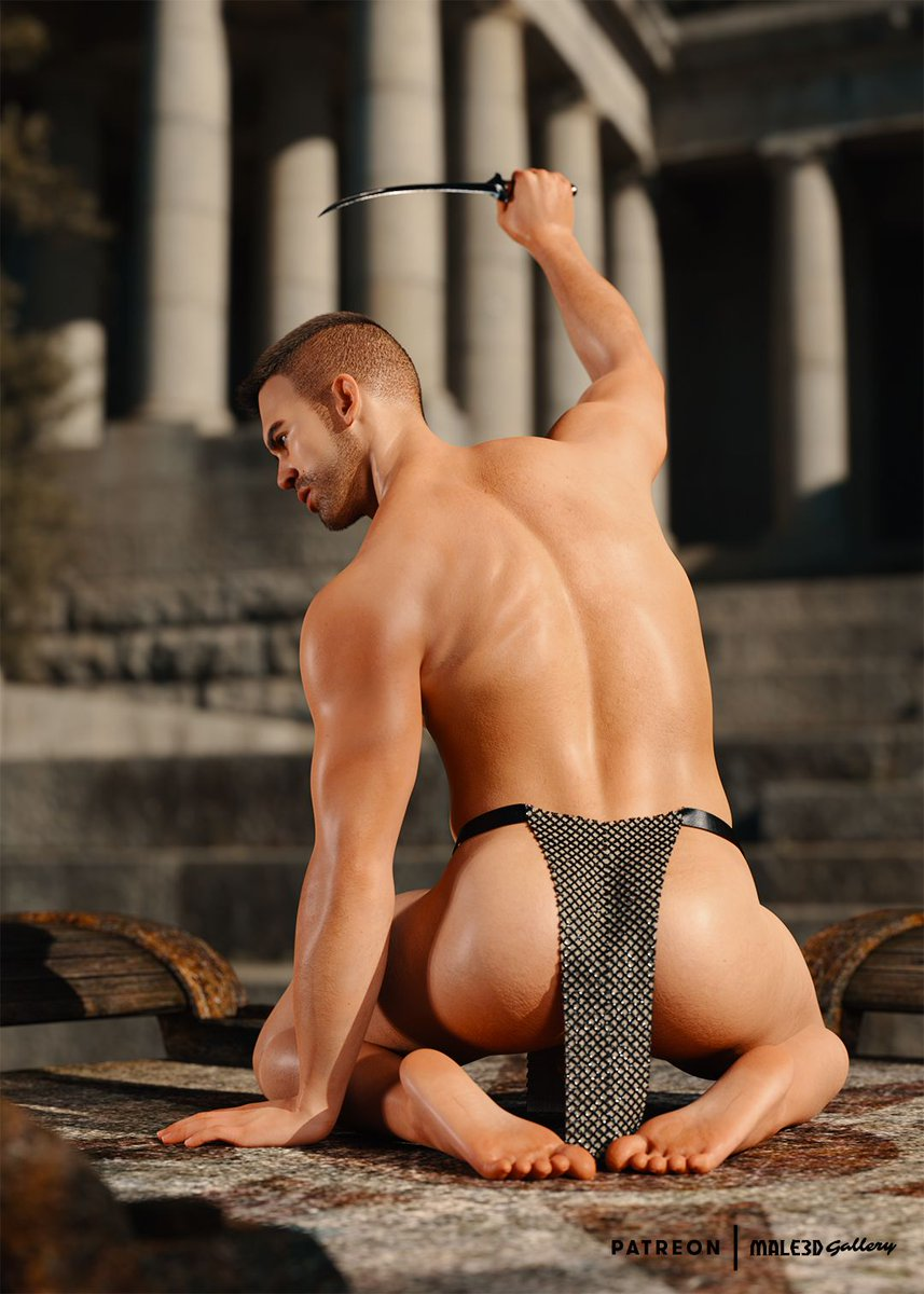 🆕 Worshipping Dacre 🆕 👉 bit.ly/3iCcBad #male3dgallery #newcontent