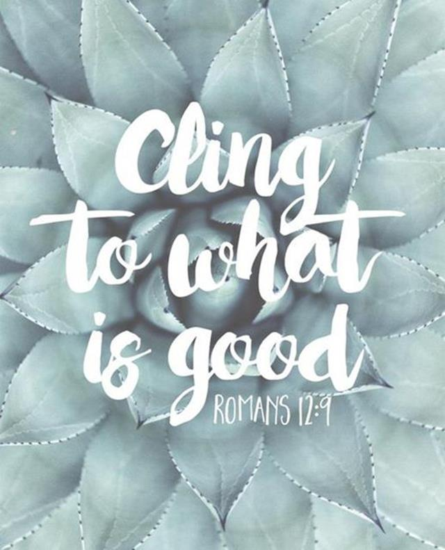Keep your mind on what is good, and what is right. https://t.co/ic3hiahgLB