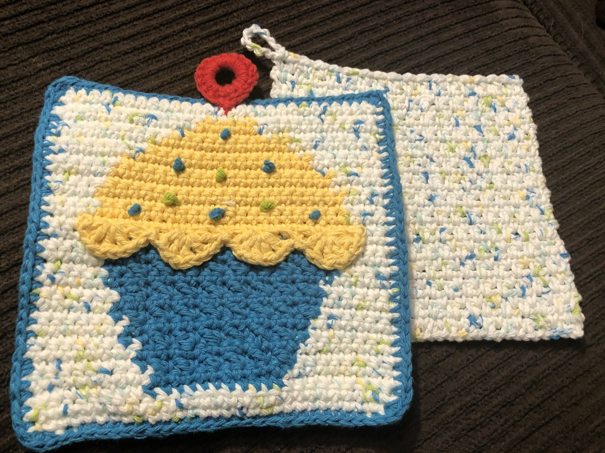 Excited to share the latest addition to my #etsy shop: Crochet Cupcake Pot Holder with Matching Dishcloths https://etsy.me/2ZaQmk5 #housewarming #christmas #yellow #cotton #potholder #dishcloth #washcloth #crochetcupcake #cupcakepotholder #seeshelstitchpic.twitter.com/kyHfm90yc5