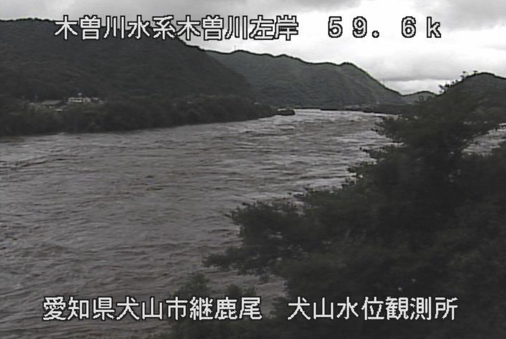 水位 ライブ カメラ 木曽川