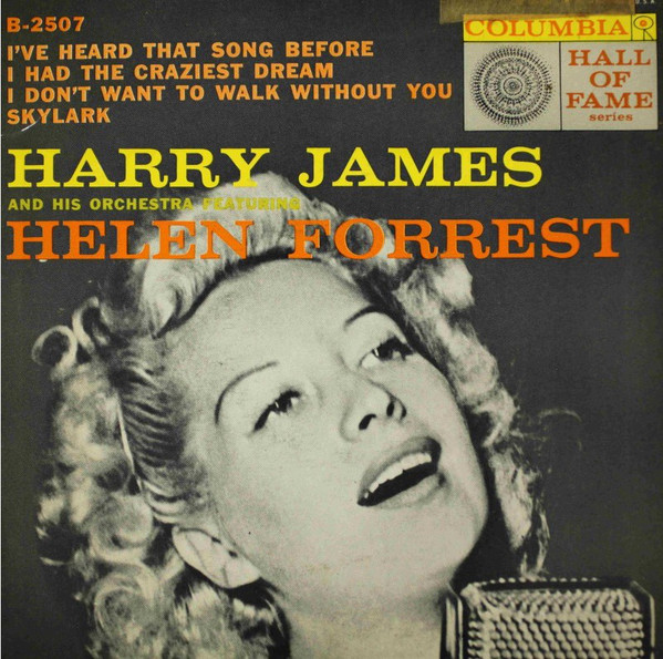 """Helen Forrest served as the """"girl singer"""" for 3 of the most popular big bands of the Swing Era (Artie Shaw, Benny Goodman, & Harry James), thereby earning a reputation as """"the voice of the name bands."""" She was performing at with Frank Sinatra Jr. in 1963 when he was kidnapped pic.twitter.com/OlhkSivEFR"""