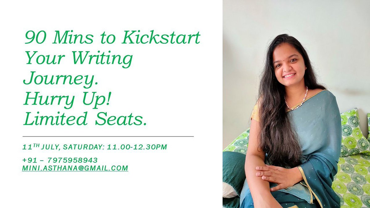 """Don't let the Lockdown, lock your creativity. """"Unleash Your Creative Writing Skills"""" @ Rs.500/-. 11th July, Sat- 11.00 - 12.30PM. 7975958943 to know how to enroll. #webinar #writingwebinar #writingskills #writersofig #writingtips #writer #WritingCommunity #WritersCafe #Lockdown5 pic.twitter.com/13XgI5lrLe"""