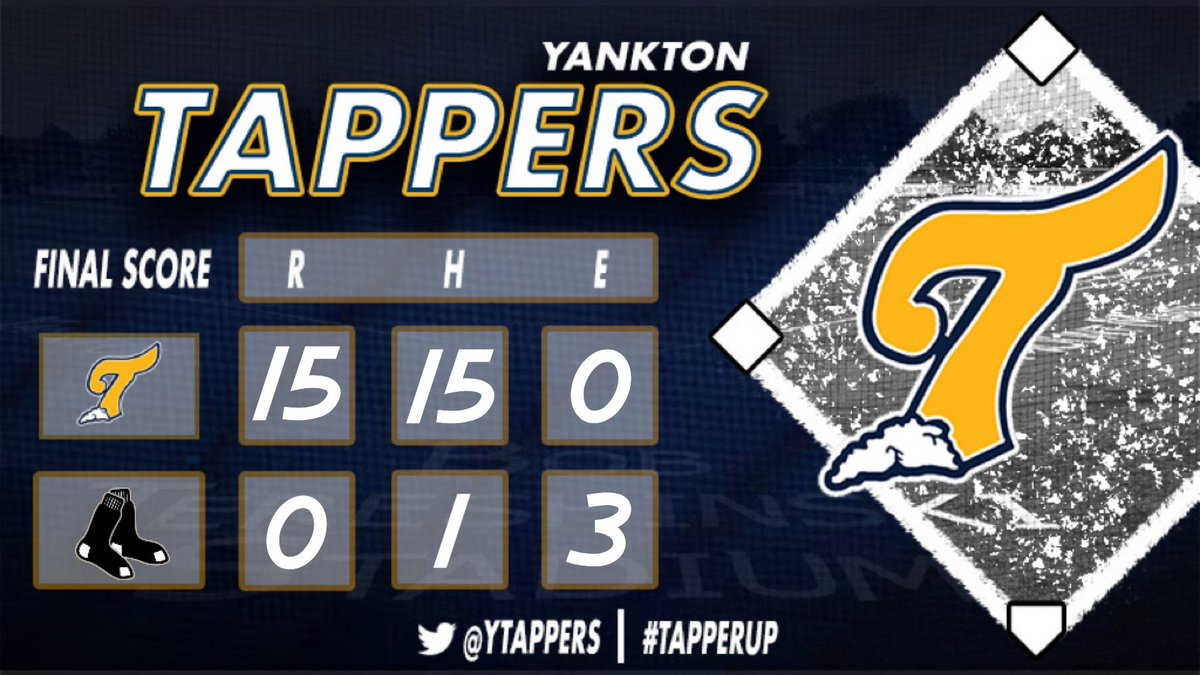 TAPPERS WIN  Great start on the bump from Gavin Schultz!   Derrik Nelson and Julito Fazzini with home runs!    Next game is Friday night @ Lesterville   #TapperUppic.twitter.com/jHG6BN240U