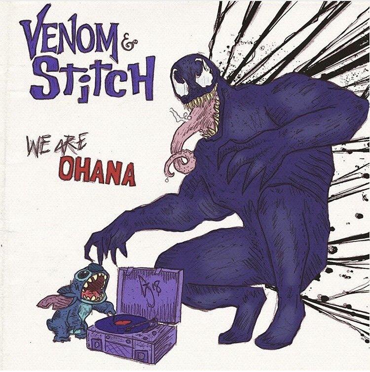 Venom eats Stitch #BadDisneyMovieEndings