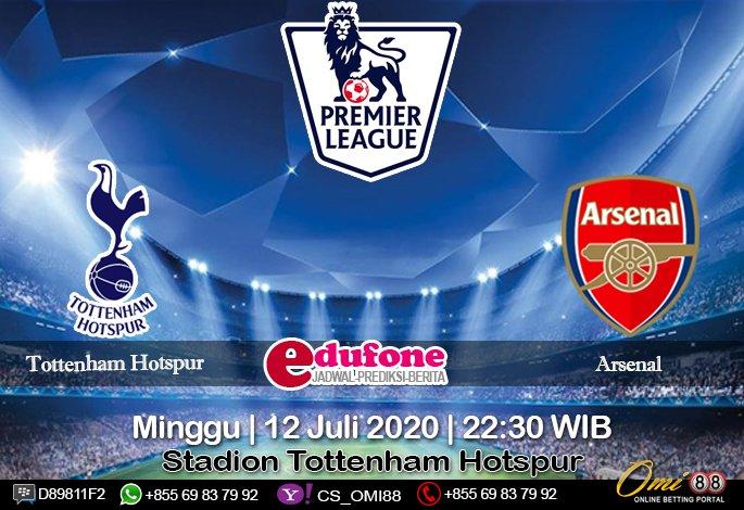 Tottenham Hotspur vs Arsenal 12 Juli 2020 Skor: 2 : 2 O/U: Under Handicap: 0 : 1/4 1X2: Draw Time: 02:00 WIB  Stadion: Club de Regatas Vasco da Gama #daftarSBOBET ⮕ https://t.co/r83PXTs85p #Prediksibola ⮕ https://t.co/ag6JpXZRXZ #TottenhamHotspur #Arsenal #PremierLeague https://t.co/uQ8XD6yMK7