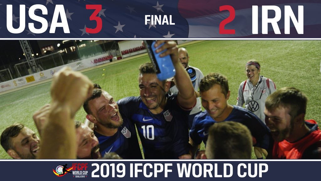 #2019WCrewind  When you open the #IFCPFWorldCup with a come-from-behind 3-2 win on a last minute goal over a perennial powerhouse! 🙌🇺🇸 https://t.co/ibIlQNtNR9