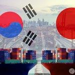 Image for the Tweet beginning: 据 #韩国 贸易协会和 #日本 关税协会8日发布的数据,5月日本对韩国