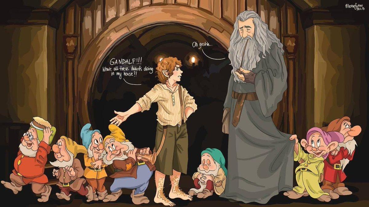 The Dwarves end up in the wrong house #BadDisneyMovieEndings