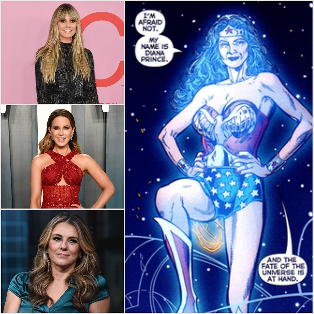 Can we have older #WonderWoman in #TheFlash, not just an older Wonder Woman but the #Earth2WonderWoman, i nominated @heidiklum, @KateBeckinsale or @ElizabethHurley for Diana/Wonder Woman in The Flash for the #DCExtendedUniverse. #DCEU #TheFlashMovie #Earth2pic.twitter.com/xMOv9Y8dXl