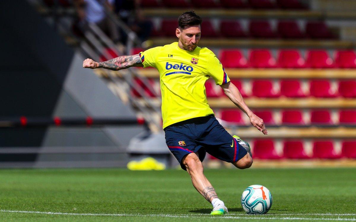 ⚽ #Messi ⌛ #BarçaEspanyol