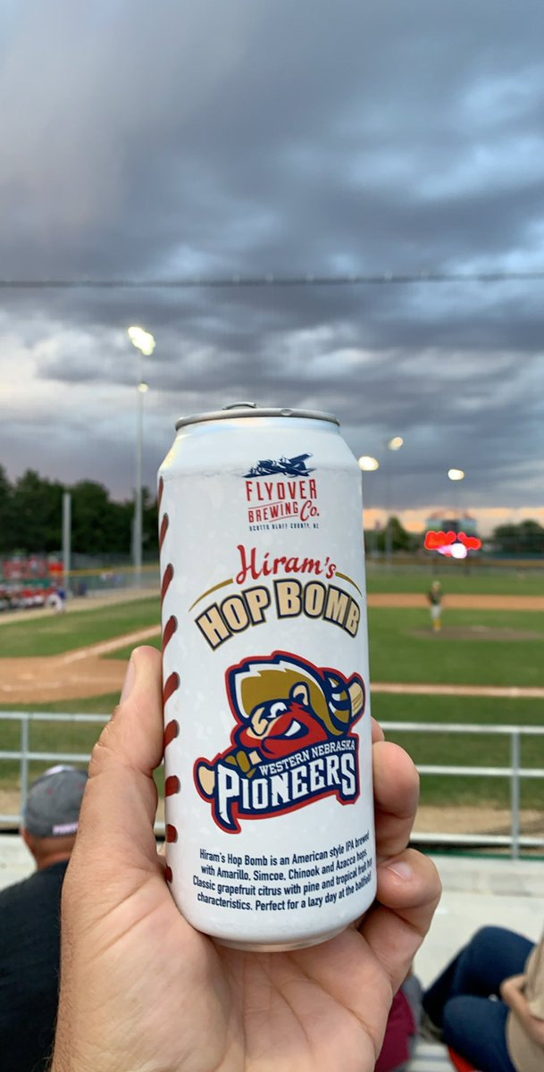 Shout out to @Flyoverbrewery and @WNPioneers for the tasty new brew!  #gopios https://t.co/GaHxV9TByK