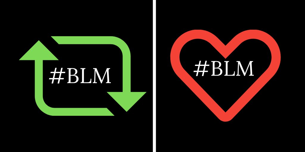 You got this, Twitter? Let us not ease up... This AND That. 🔁💟 #BLM ✊🏽✊🏾✊🏼✊🏻