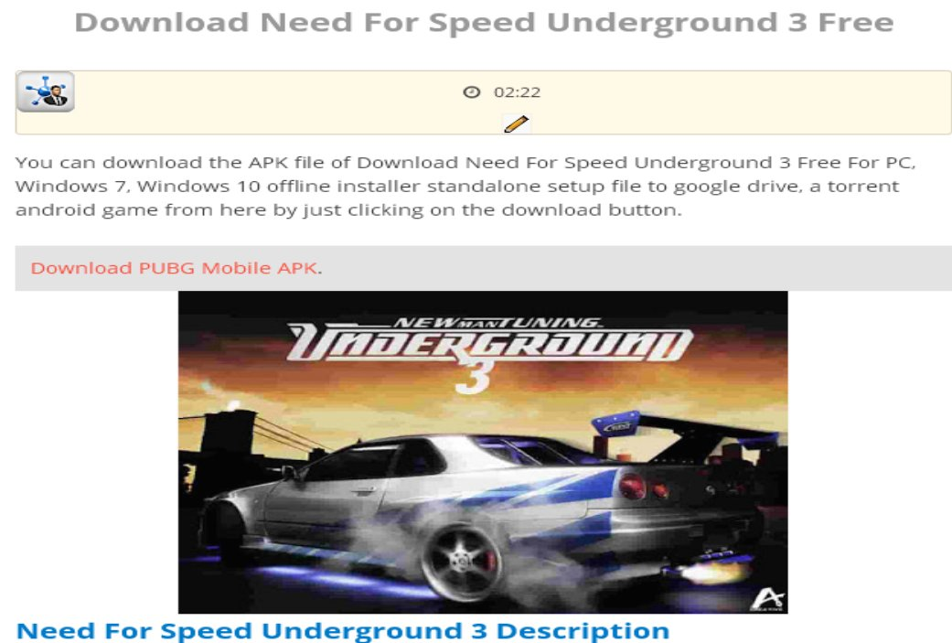 Shinyodd On Twitter Download Need For Speed Underground 3 Pc