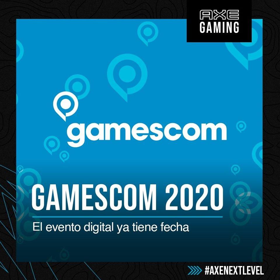 #Gamescom2020 se realizará con varias de las actividades de siempre y grandes anuncios de futuros juegos y la participación de Geoff Keighley, productor de #TheGameAwards; la gran cita será este mes de agosto del 27 al 30. #AXEGaming #AXENextLevel 🚀 https://t.co/4dS3cGGcyW