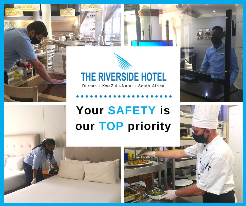 We are taking all the necessary precautions to keep you safe during this time #MeetatTheRiverside https://t.co/BtmuuicGWK