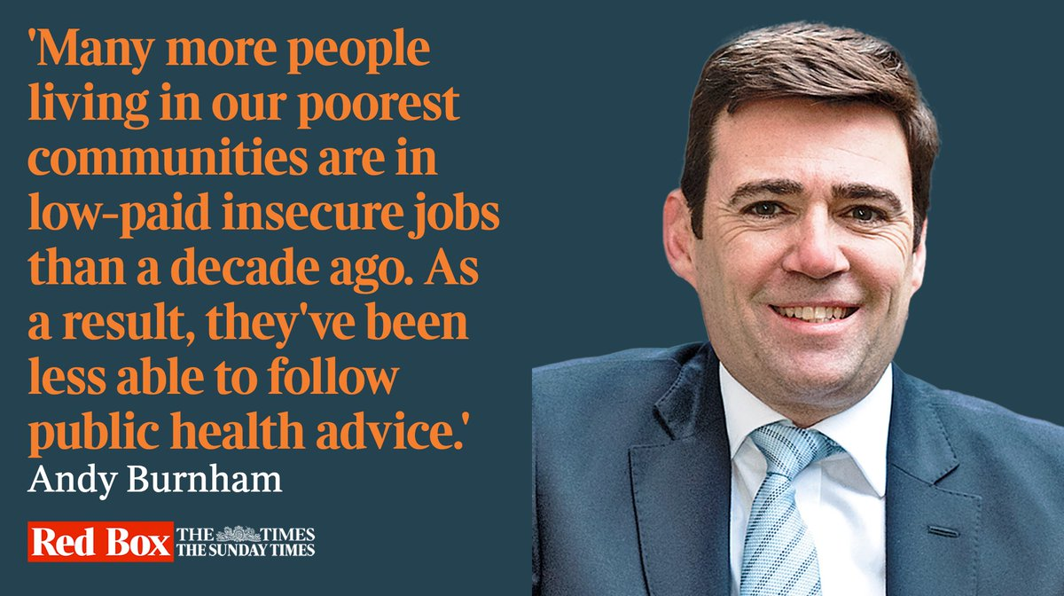 Universal basic income would mean a real 'levelling up', writes @AndyBurnhamGM bit.ly/2DcqcEP