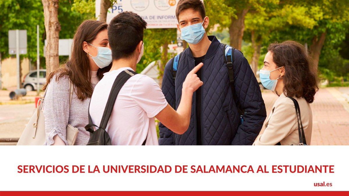 ¿Conoces todos los servicios que te ofrece la Universidad de Salamanca? Cultura, deportes, prácticas, voluntariado…   ¡Descúbrelos! 👉 https://t.co/WPZMDj1yyK https://t.co/RcsvHFvl9s