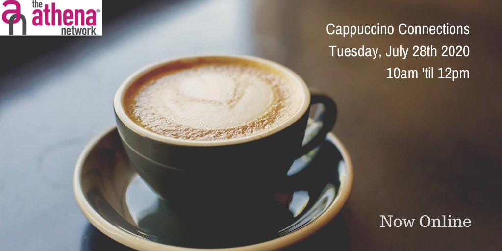 Our next cappuccino connections is coming up on the 28th of July!  Are you booked on? You need to let me know 48 hours before the meeting soi can sort out access.  Come and join our family.  #GirlBosses #SelfMade #WomenInspiringWomen #SupportWomenInBusiness #WomenWhoHustle https://t.co/sN2REFhYJn