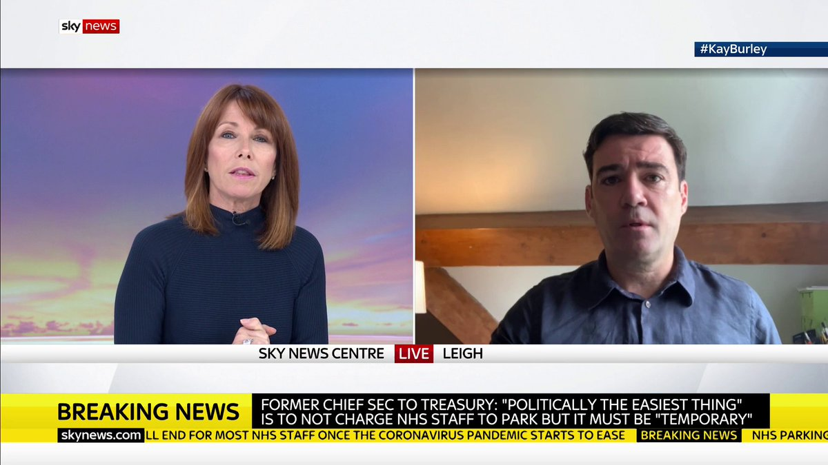 Why do you think the North has been so badly affected by the pandemic? Mayor of Greater Manchester @AndyBurnhamGM says millions of people in the North of England are on low paid, insecure work contracts and have therefore been hit hardest by the virus. JJ #KayBurley