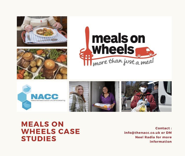 Do you provide meals on wheels to the vulnerable? Or are you a business/pub/restaurant/hotel etc that temporarily provided meals during lockdown? If so we want to hear from you please. Please DM me or contact info@thenacc.uk for more info #morethanjustameal #mealsonwheelsheros https://t.co/J70JoMBlQI