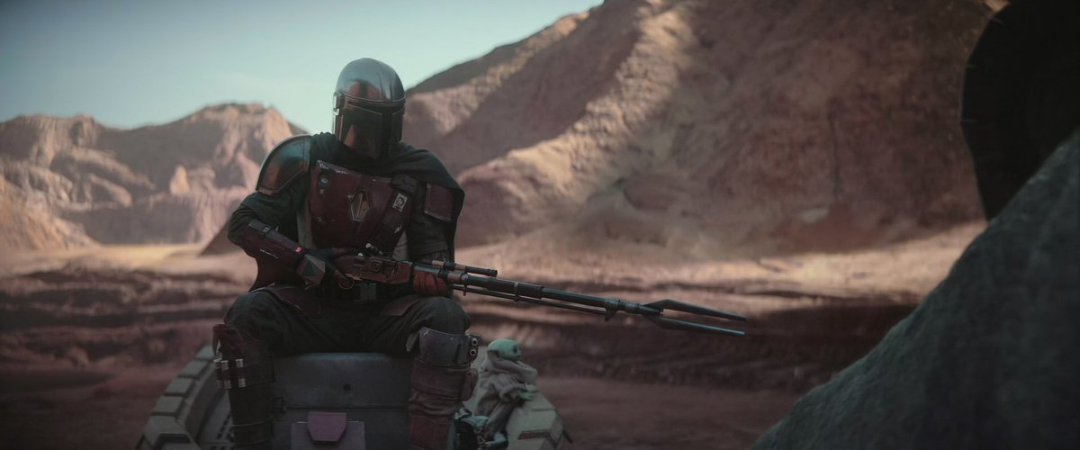 """""""I'm a Mandalorian, weapons are part of my religion."""" #TheMandalorian #StarWars<br>http://pic.twitter.com/UC5O4ruFGZ"""