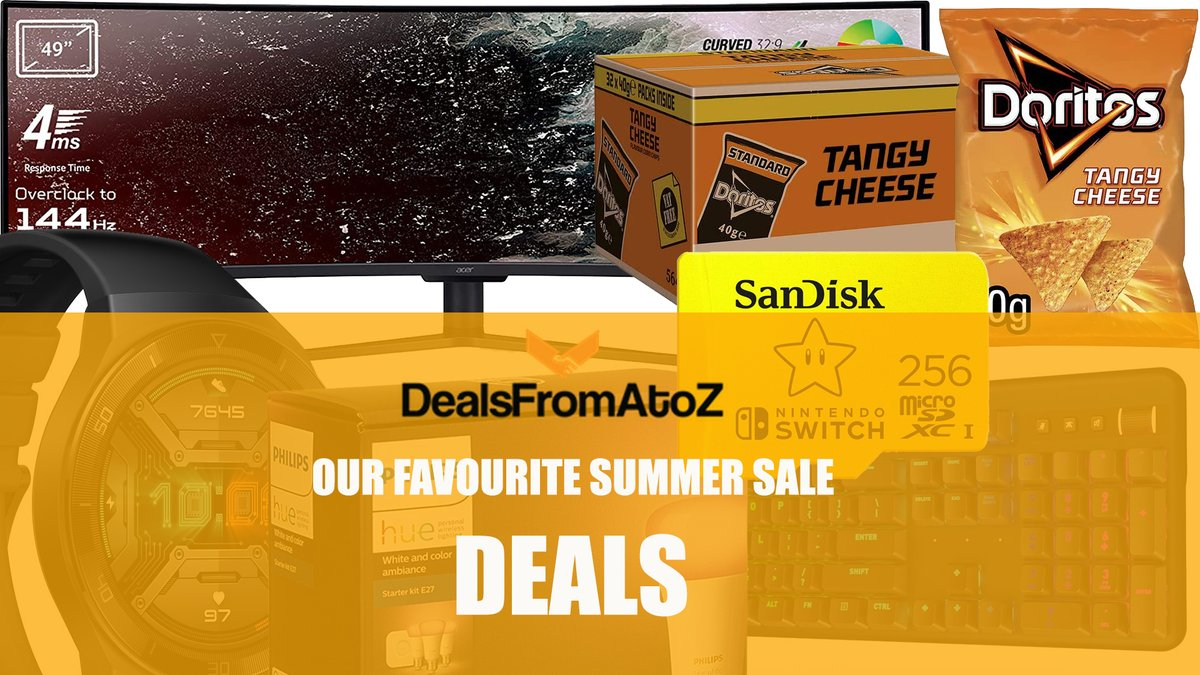 Our Favourite Picks from The Amazon UK Summer Sale  Click for deals on video games, computing, kitchen, technology, memory, food, fitness and more  https://t.co/kp1RCjK8Lk  #food #fitness #videogames #technology #home #kitchen #sales #bargains #pets #drink #ps4 #nintendoswitch https://t.co/6C7dHRiZ6J
