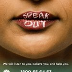 Image for the Tweet beginning: A powerful #domesticviolence campaign is
