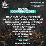 Image for the Tweet beginning: PORTUGAL! Red Hot Chili Peppers