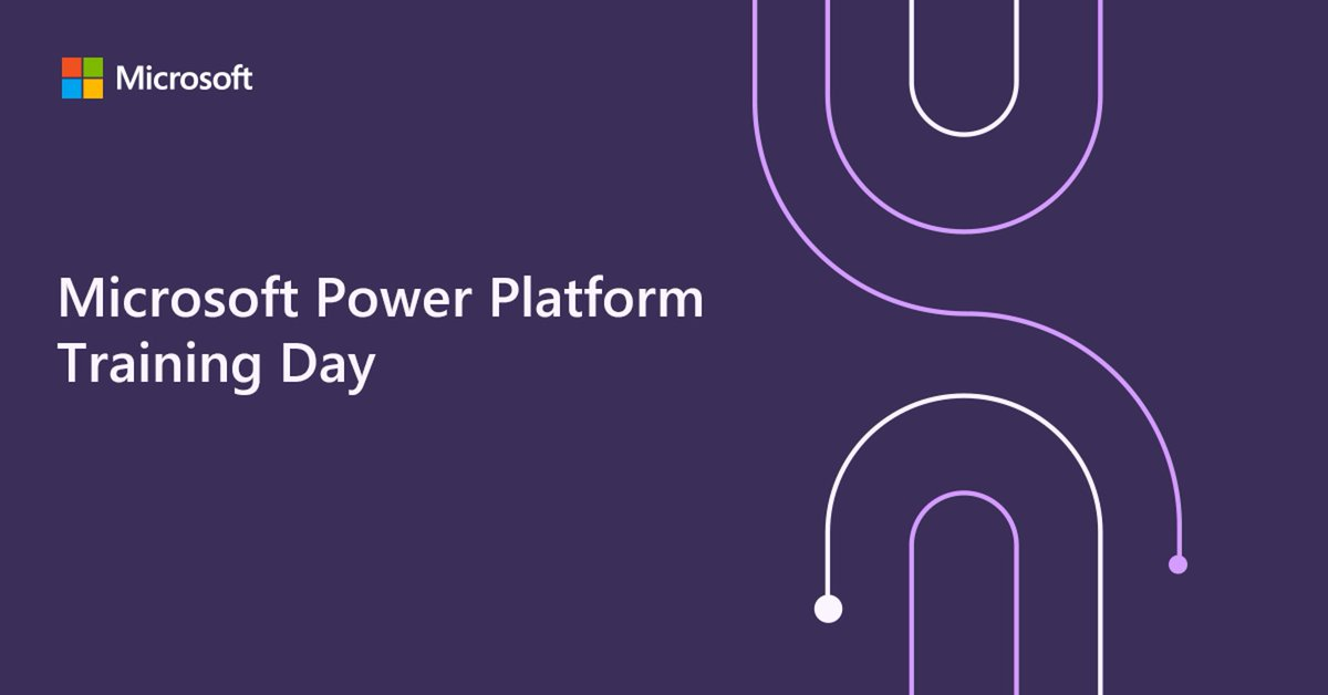 The Microsoft Power Platform Virtual Training Day is around the corner! Register to the virtual event and learn how to build custom apps, automate workflows, and analyze data—regardless of technical expertise. Don't miss out: https://t.co/lOiEZhs9Qq https://t.co/0lbyBKQ9Mv