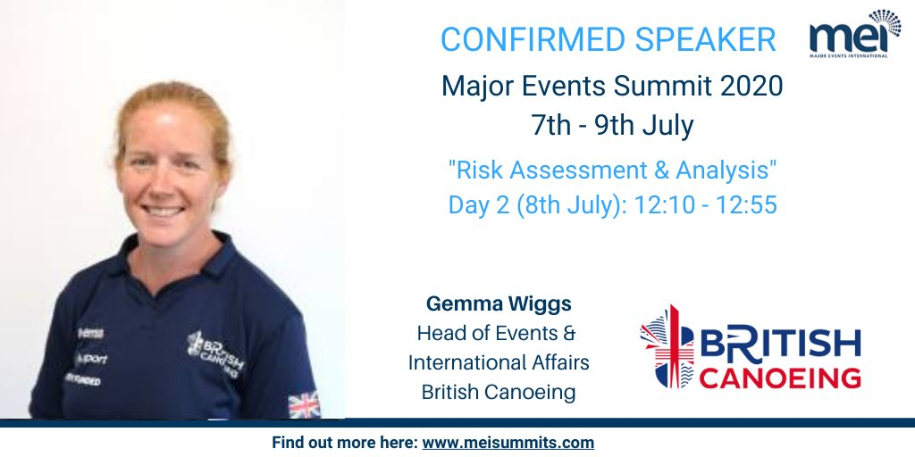 Looking forward to being part of the discussion at today's @Major_Events Summit. Great few days of dharijg knowledge and debate! @BritishCanoeing https://t.co/8Dl8rvUWAg