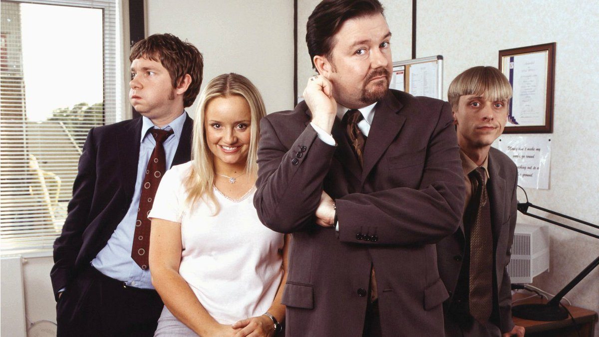 #OTD 2001: The first episode of 'The Office' was screened on BBC Two. https://t.co/dc2WTKnHP0