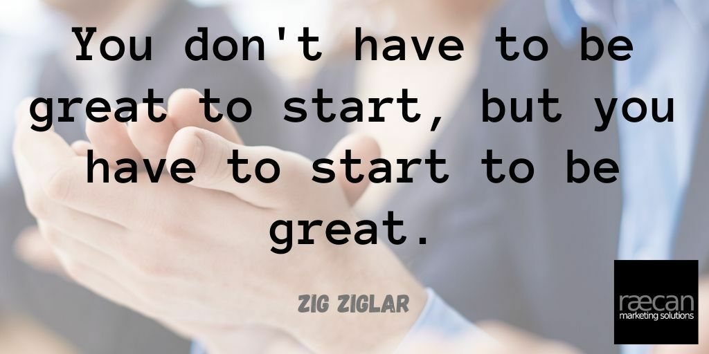 You don't have to be great to start, but you have to start to be great.  #MondayMotivation #ramsbottom #bury #rochdale #oldham #burnley #accrington  #socialmedia #websites #marketing #ramsbottombusiness #emailmarketing #smsmarketing #customerloyalty