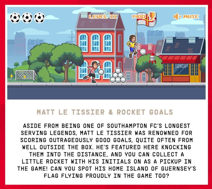 [Southampton FC] Southampton reveal arcade game to celebrate 135-year history https://t.co/t3dI7MEtIi https://t.co/dNwlVE3zzj