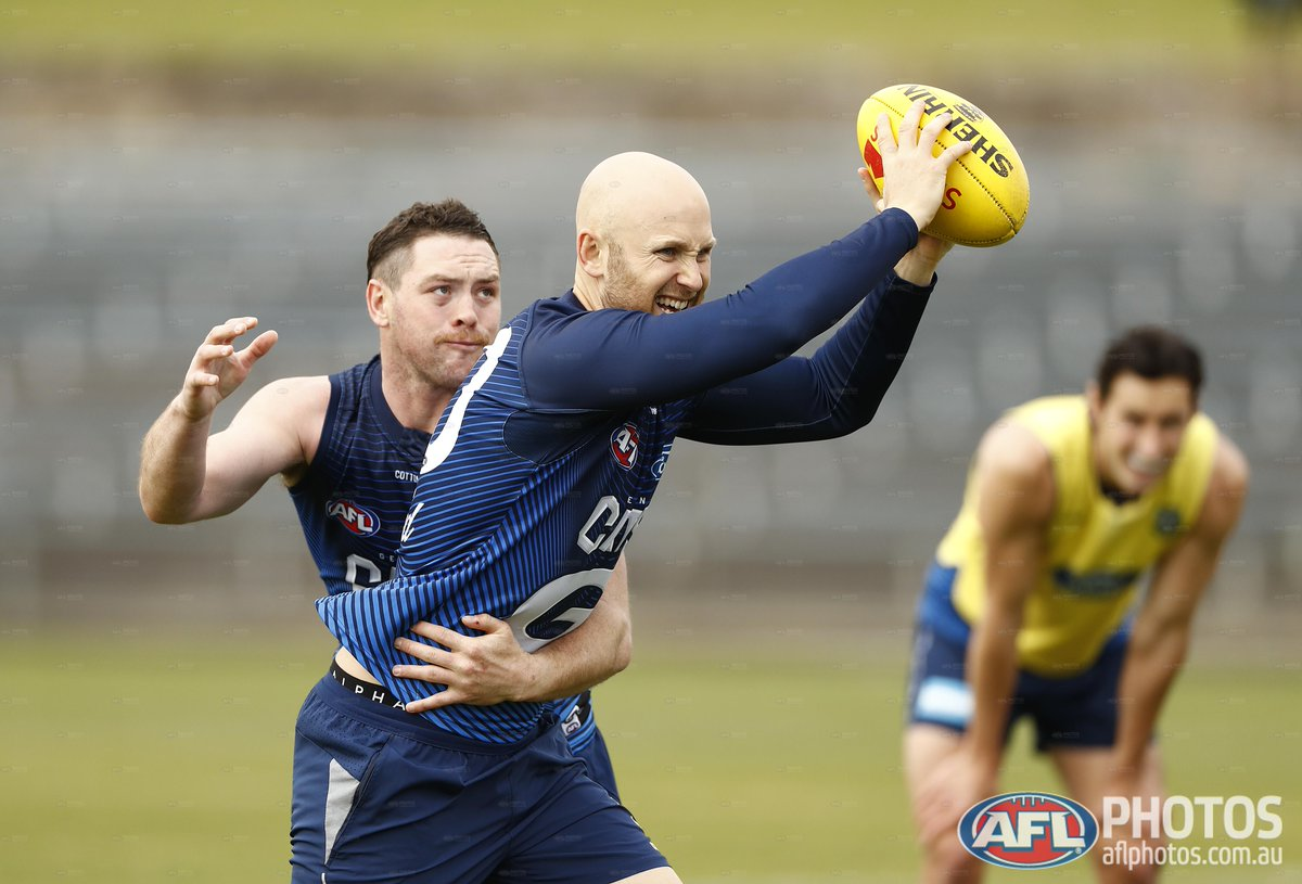 Brisbane gets a huge name back but Geelong will manage a key midfielder.  Check out the teams for Thursday's game: https://t.co/tpmV0r7jfB https://t.co/kga6sruXEx