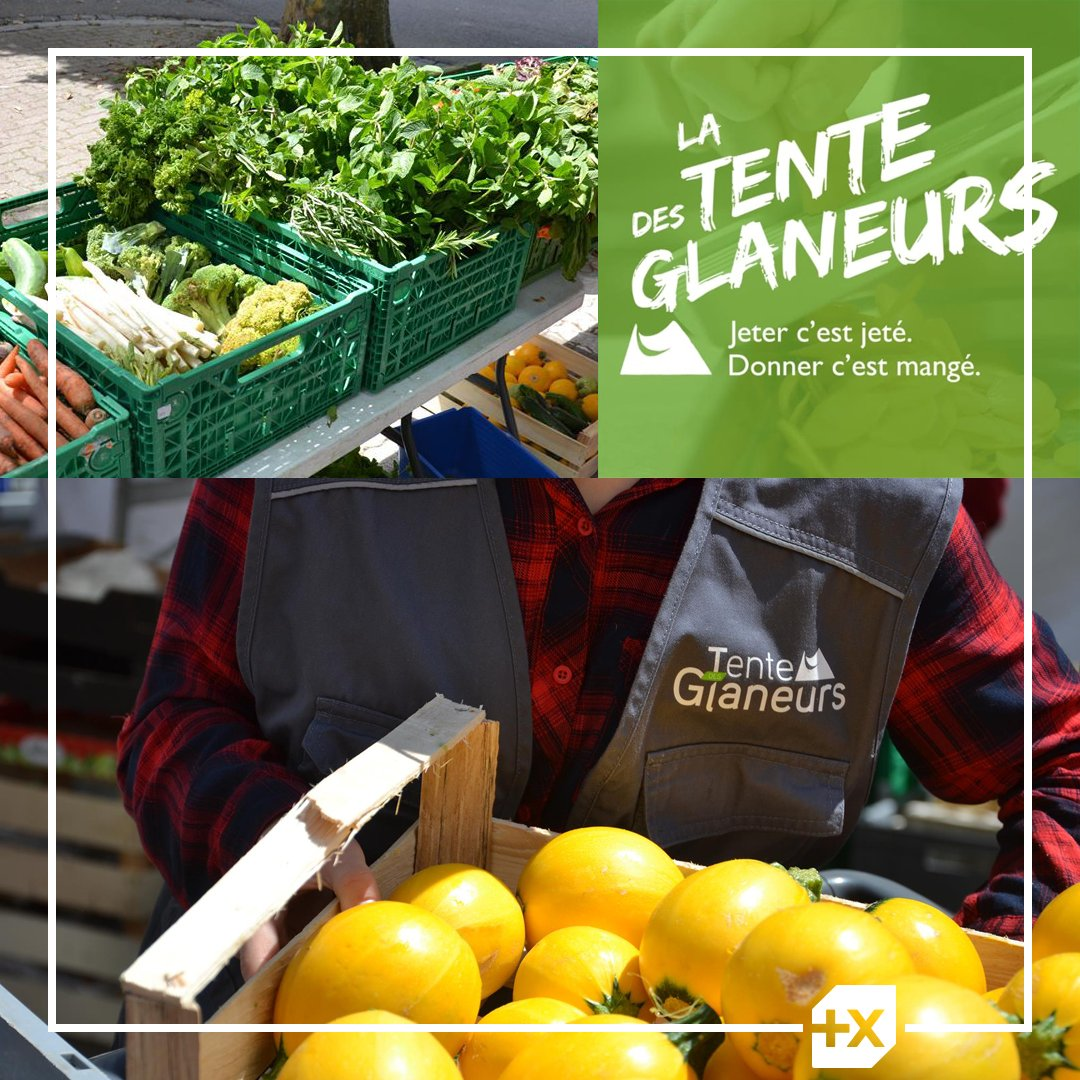 [Une banque plus engagée] 🤝 Dans le cadre de notre campagne de dons Trait d'Union, nous avons décidé de soutenir La tente des Glaneurs Strasbourg qui lutte contre le gaspillage alimentaire pour en faire bénéficier les personnes en précarité alimentaire. https://t.co/OCHRMiVLAI