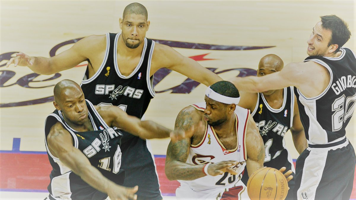 NBA Finals 2007 Cleveland Cavaliers vs San Antonio Spurs Game 4 Hardwood Classics https://web.facebook.com/watch/?v=1183723491986199… Only in our Facebook Community! Subscribe and have a good viewing!pic.twitter.com/crSEIJyNJG