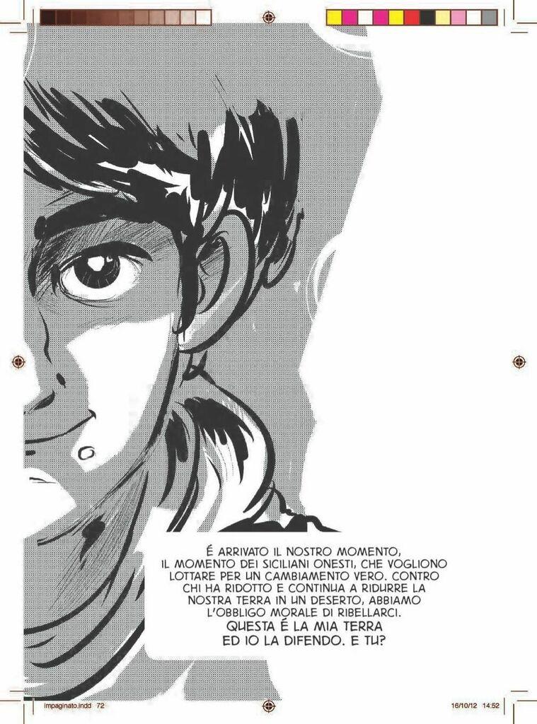 """""""La mia terra la difendo"""", il fumetto sulla Sicilia pulita che ha sfidato """"il pregiudicato Sgarbi"""", il malaffare e il potere politico. Prefazione di Don Luigi Ciotti, contributi di Riccardo Orioles e Andrea Camilleri, disegni di kanjano. https://ift.tt/2xrZ0wypic.twitter.com/U0xMhQvG91"""