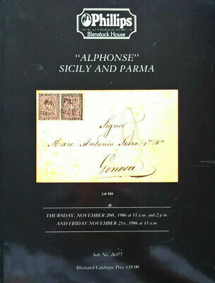 Auction Catalogue ALPHONSE SICILY & PARMA Italia Sicilia Italy Italian States: £20.00End Date: 29-Jul 18:04Buy It Now for only: US £20.00Buy it now   Add to watch list http://dlvr.it/Rb9R4npic.twitter.com/ZdhkoloJAh