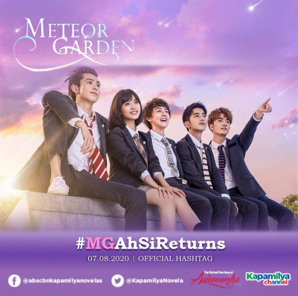 Meteor Garden   Official Hashtag  07.08.2020  #MGAhSiReturns https://t.co/p31kJ7RZnP