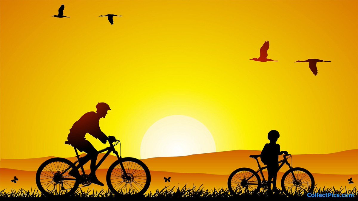 """#Cycling is a #beautiful thing. #Peaceful and #serene. #Flowing and #artistic. #Freeing and #blissful. -- Ted King 🚲  Good Wednesday morning dear #BikeFriends! Have fun out there 🙌🏽 🚴‍♀️ 🚴🏻 💚 https://t.co/gSQUG2zCyv"