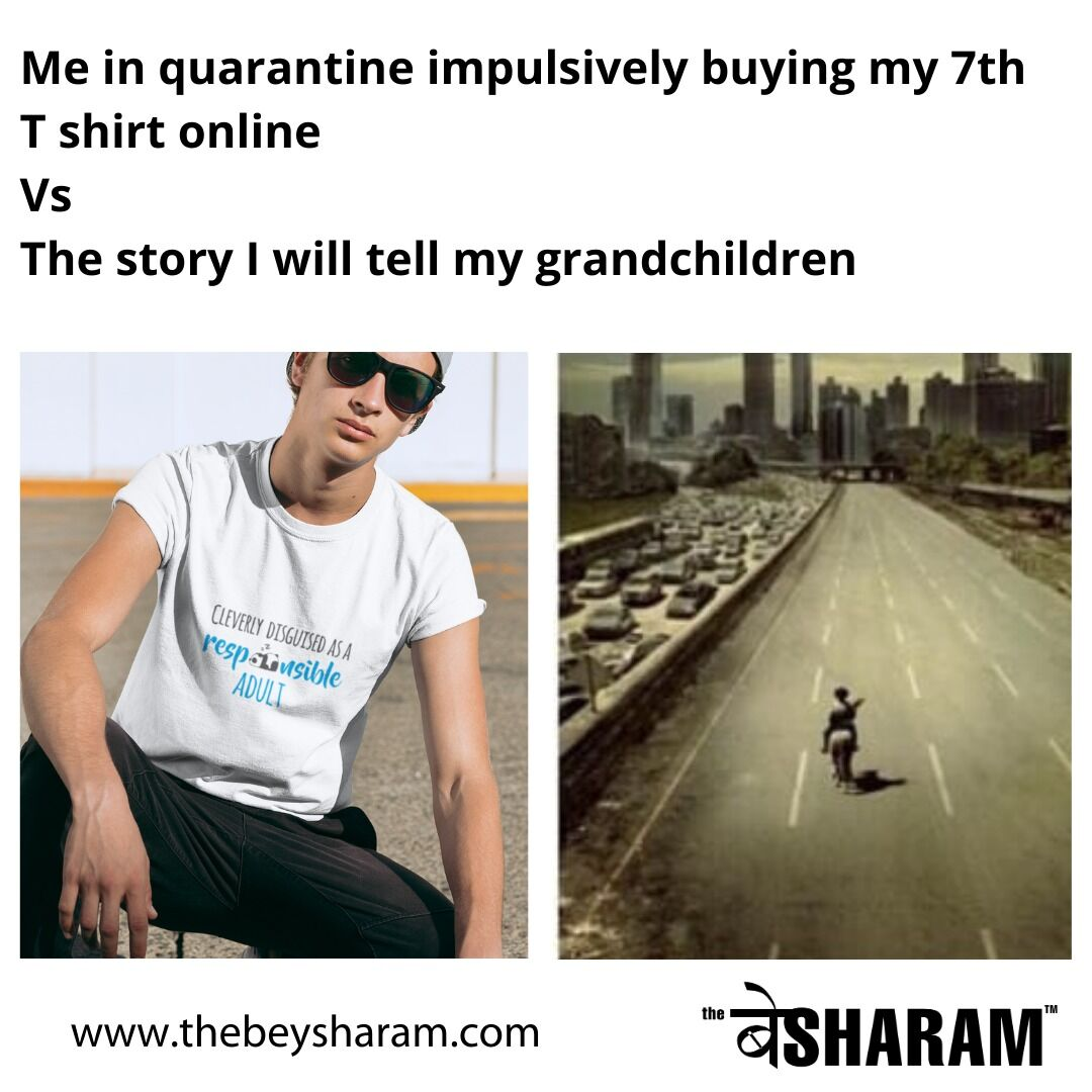 Stay Home, Keep Buying from @thebeysharam . . . . . #thebeysharam  #meme #gags #memelife #thugspic.twitter.com/F4p9KtfTmL
