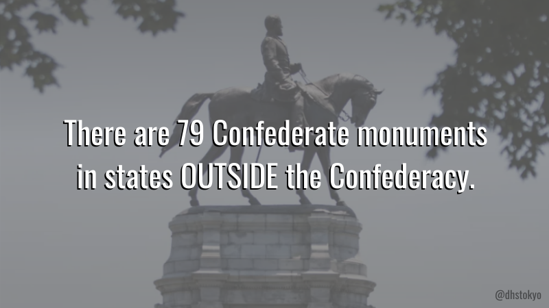 The majority of Confederate statues went up long after the Confederacy ended in 1865, most of them during the Jim Crow era and as recently as 1964.  They're not meant to be symbols of history, but of a white supremacist future. #TearThemDown https://t.co/FTJPkBE6S7